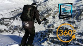 Video 360 ski freeride Cristian Boiria